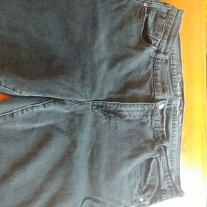 Old Navy Sweetheart Jeans Black Sz 16
